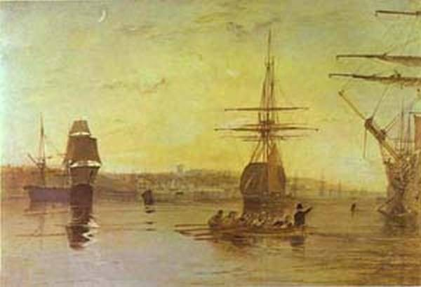 Cowes isle of wight 1827 uk